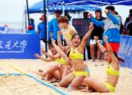 2018年全国沙滩手球锦标赛落幕 潍坊女队夺冠