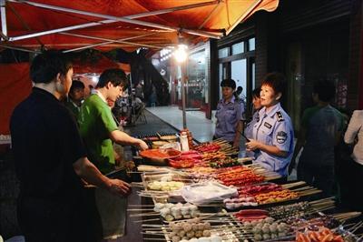 5月份淄博责令停工11个建筑工程 取缔烧烤经营户33家