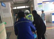 正能量丨滨城骑警紧急救助伤员 为救治争取宝贵时间