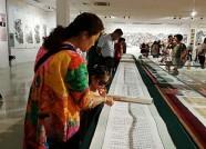 """庆""""七一"""" 潍坊7位书画家向市民免费展示作品逾200幅"""
