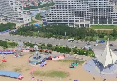 2分钟速览中国最美海岸马拉松赛道 海阳仙境海岸静候奔跑者