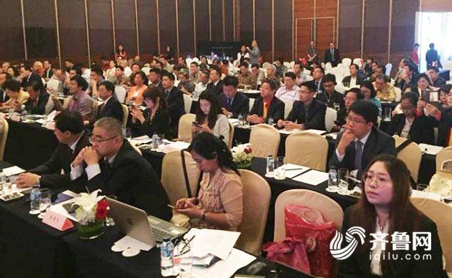 """德州""""百企下南洋""""代表团在印尼开展商务对接活动"""