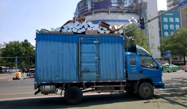 聊城:10天查获大货车和面包车严重违法行为524起