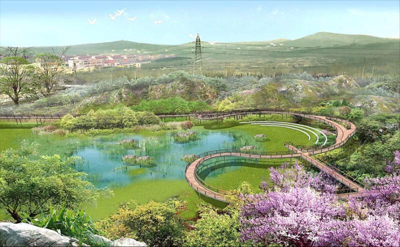 淄博高新区四宝山区域生态文旅项目今年动工 总规划面积约1711公顷