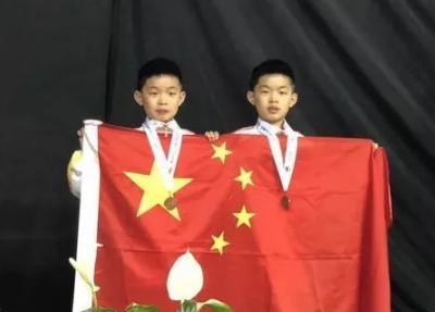 刚刚,济南这几个牛娃代表中国队又拿了个世界冠军!