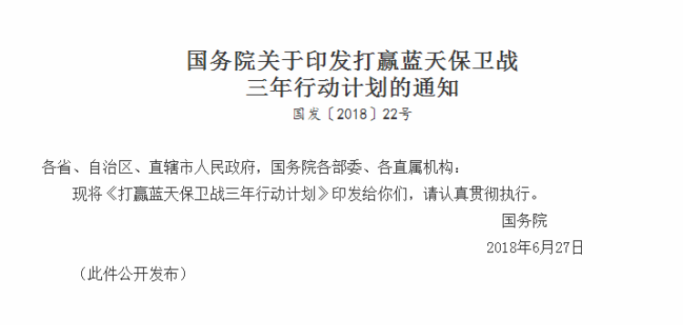 打赢蓝天保卫战三年行动计划 山东济南等七市被列为重点