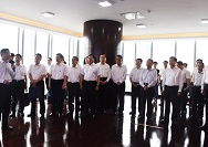 山东省党政代表团赴广州琶洲互联网创新集聚区学习考察