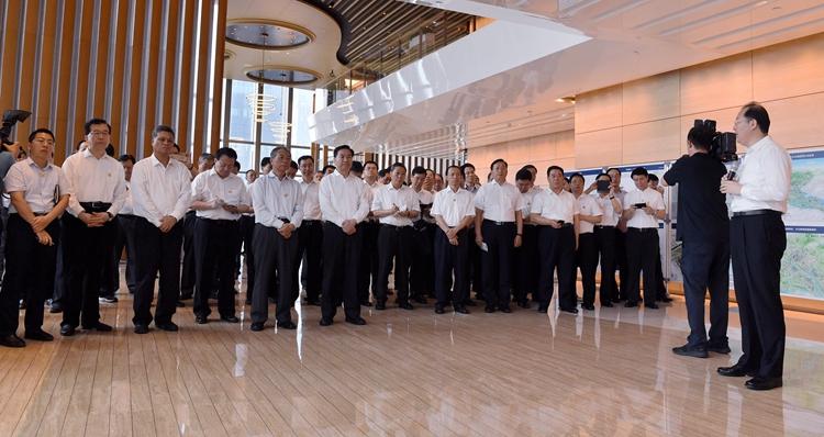 南行取经记|山东省党政代表团赴广州金融中心考察学习