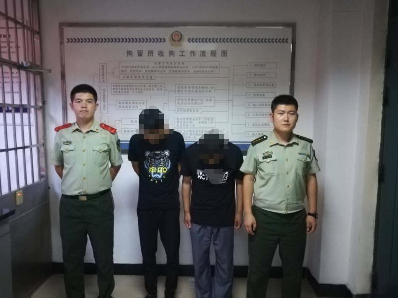 日照两男子阻碍执行职务被依法行政拘留