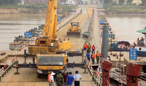 滨州旧镇浮桥7月6日上午开始拆除 注意绕行