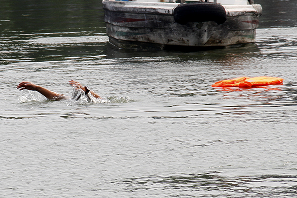 汛期来临,大明湖风景区进行实战应急演练