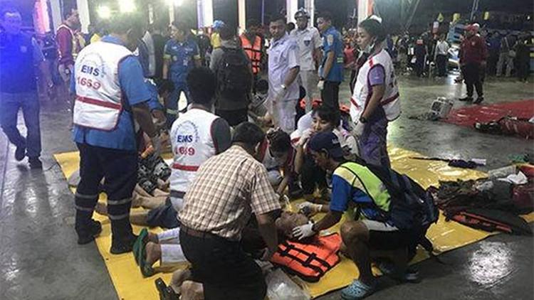 55秒 | 普吉岛发生两起翻船事故 济南游客回忆险些乘坐倾覆船只