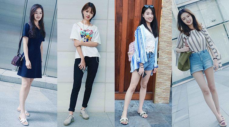 【美人计】宅男福利,济南街头的长腿美女你喜欢哪款