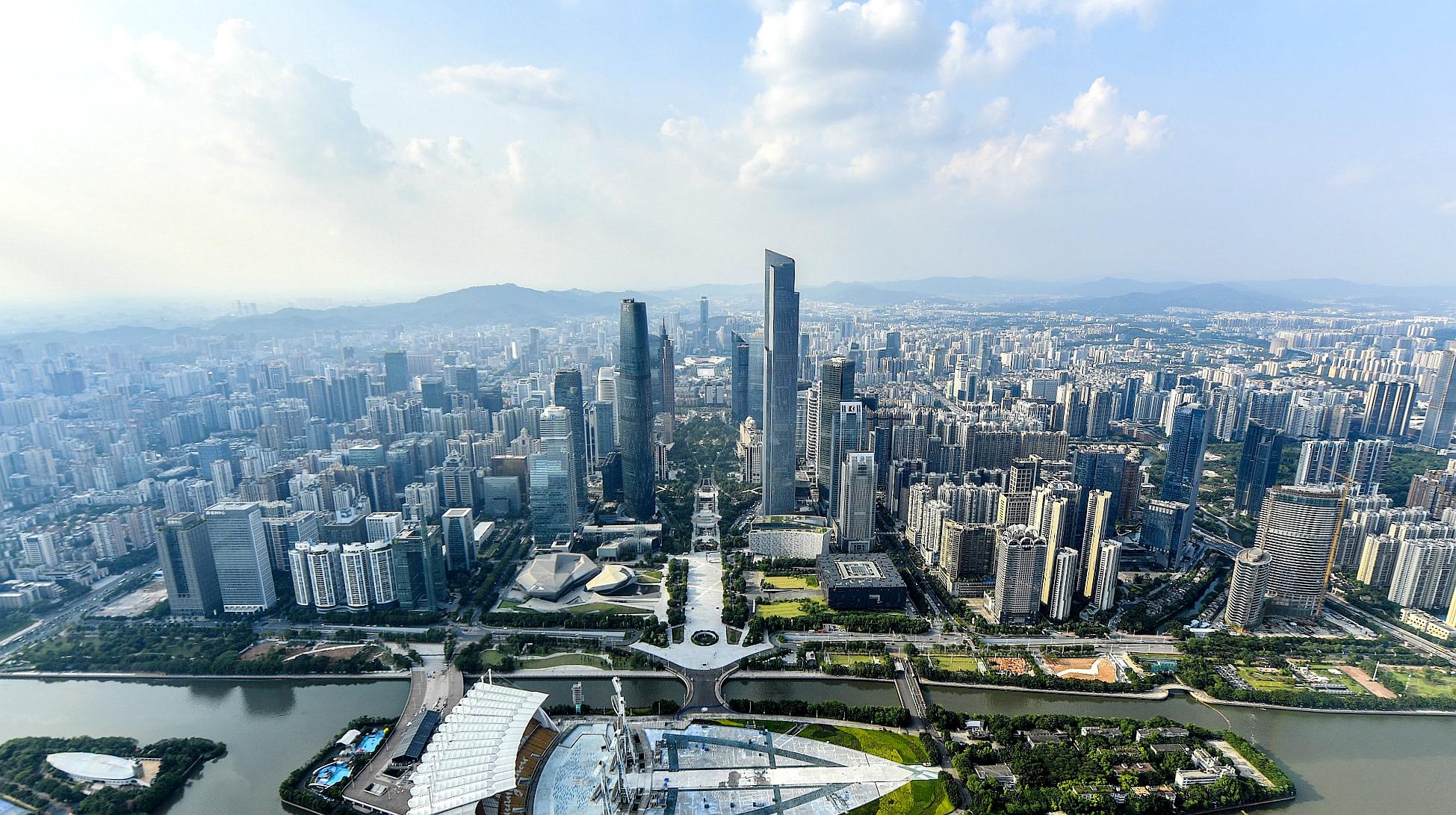 记者侧记|广州天河CBD 30年建成的全国第一中央商务区