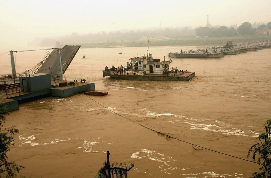 黄河山东段55座浮桥全部拆除 防御干流洪水