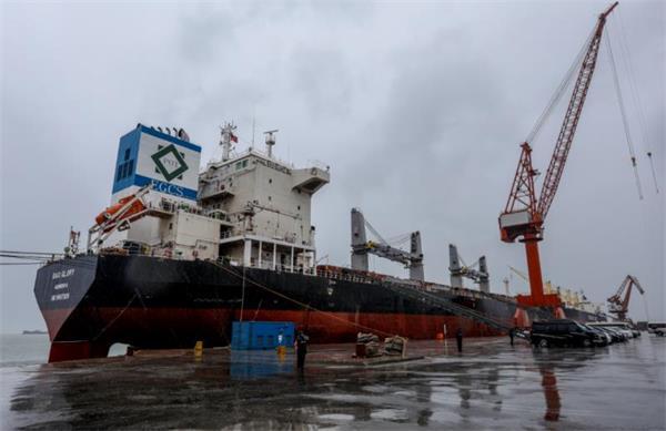全国首套船舶脱硫洗涤系统在荣成出口交付