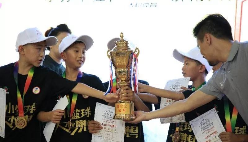 小篮球联赛山东赛区U10决赛落幕 淄博临沂球队分获冠军