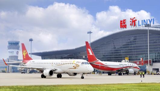 临沂国际机场加密临沂=泰国(曼谷)航班首航圆满成功