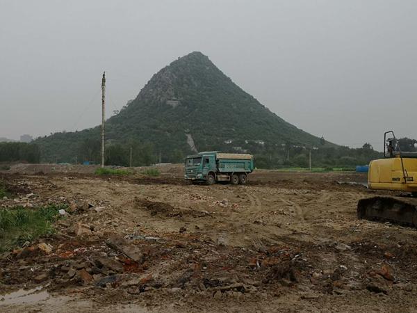 扬尘污染落实不到位 华山洼生态修复等多个项目被通报批评