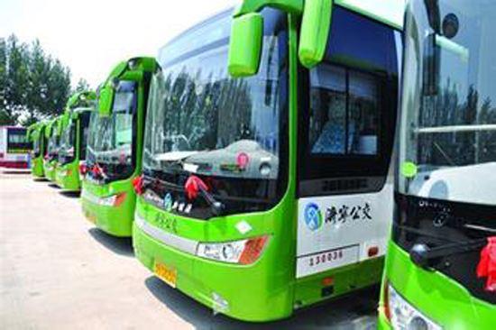 7月10日起济宁55路公交线路临时调整线路