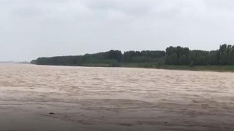 黄河滨州段泄洪水深流急 滨城黄河河务局发布紧急提醒