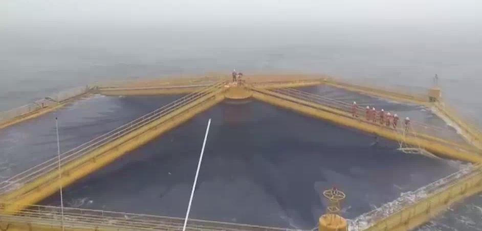 """《海上牧歌》带你认识中国首座""""深海渔场""""——深蓝1号"""