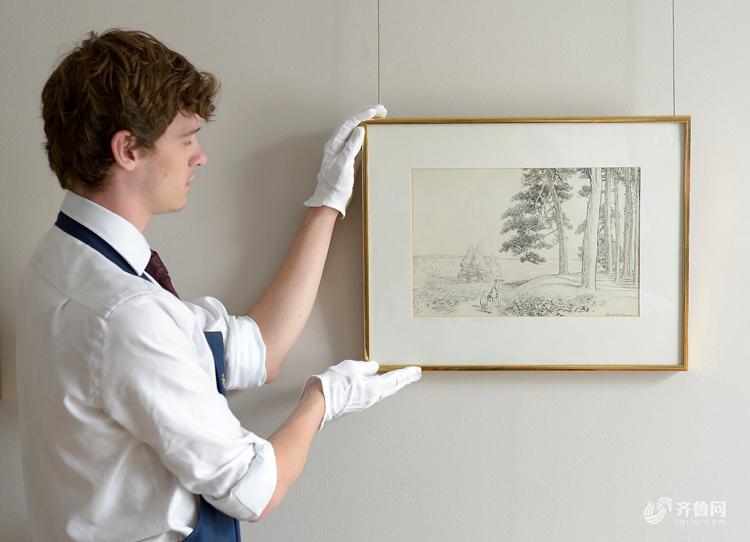 世界观丨小熊维尼手稿原图拍卖43万英镑 隐藏半世纪的秘密图纸长这样