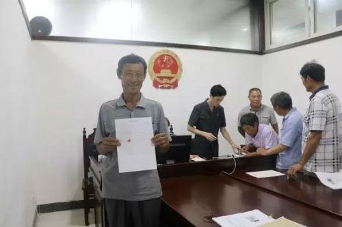 日照东港法院为15位农民工讨回血汗钱11万余元