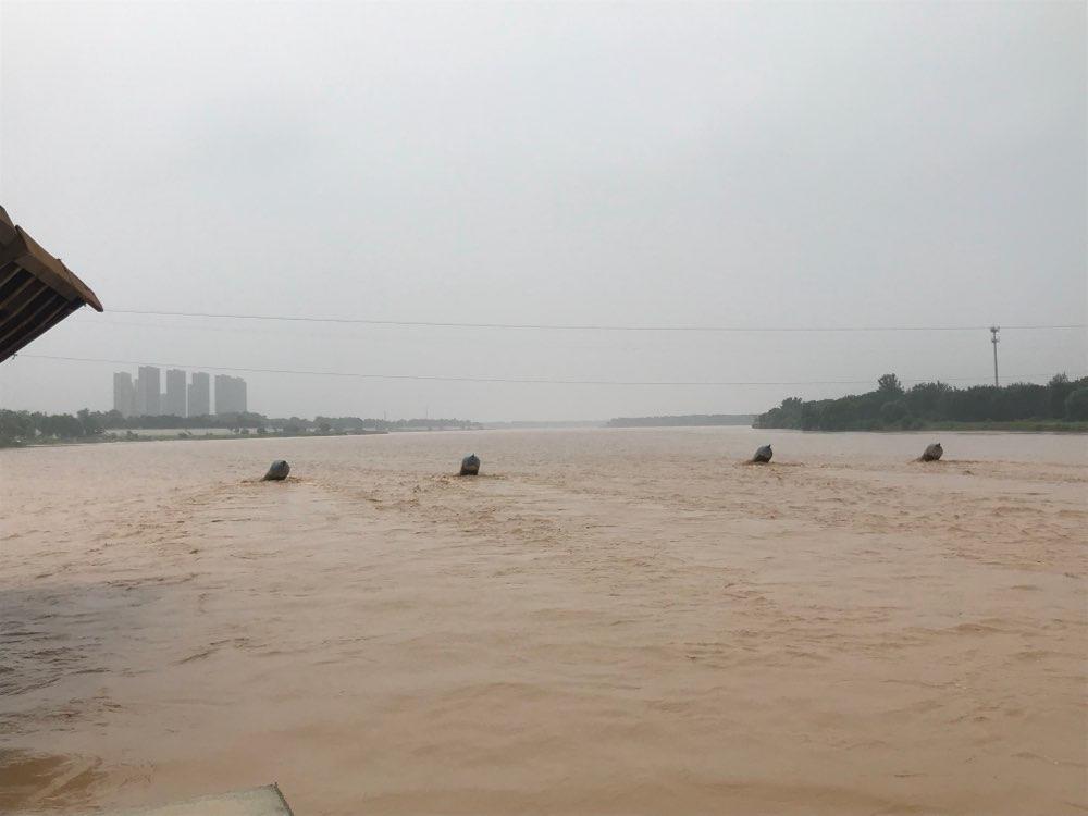 汛期到 黄河济南段迎2015年以来本段最大水流量