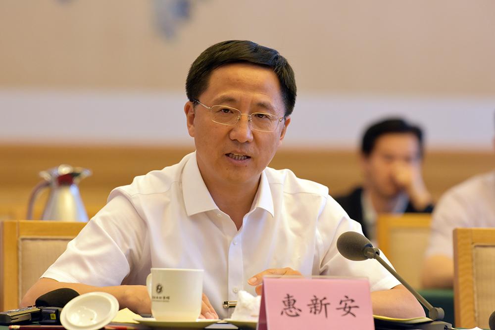 南下归来话改革丨 省委组织部常务副部长惠新安:培养选拔大批想干会干的好干部