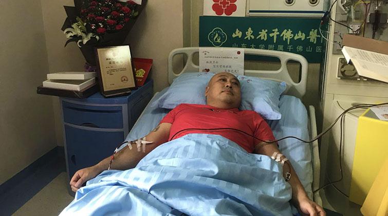 济南第55例造血干细胞捐献者:既然有缘分无论如何也要救他