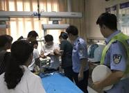 """现实版""""生死时速""""!滨州铁路分局民警争分夺秒挽救急症患儿"""