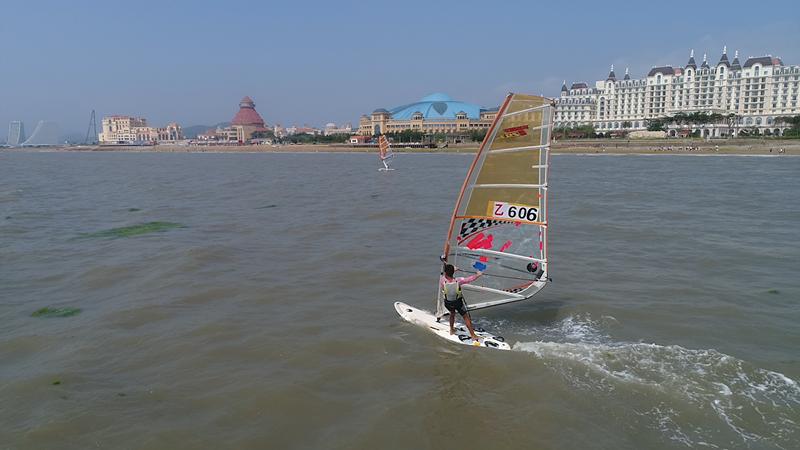 决战鳌山湾!第24届省运会帆船帆板决赛开赛