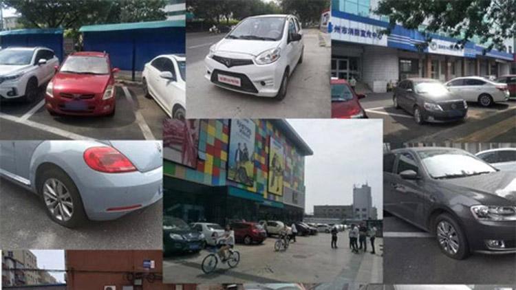 40余辆车胎被扎 滨城警方3小时抓获嫌犯