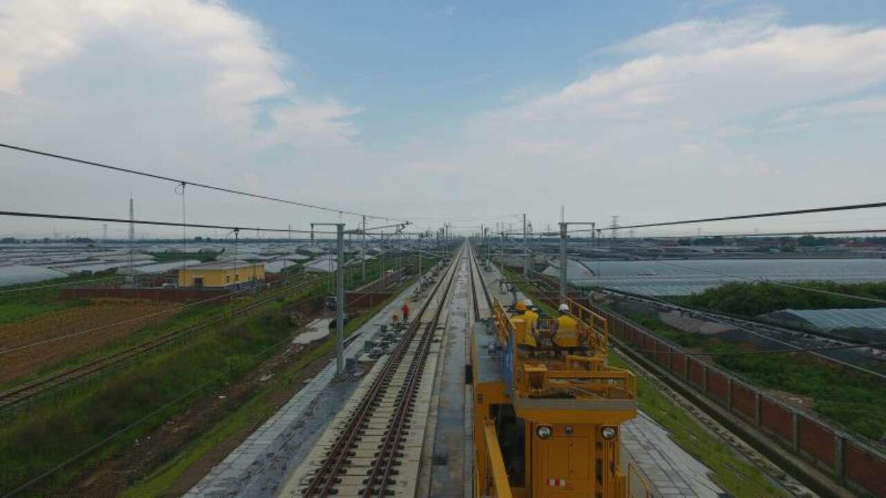 济青高铁接触网工程已基本完成 8月1日起联调联试