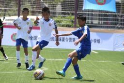 2018年全国青少年校园足球夏令营(小学组)第二营区中德生态园开营