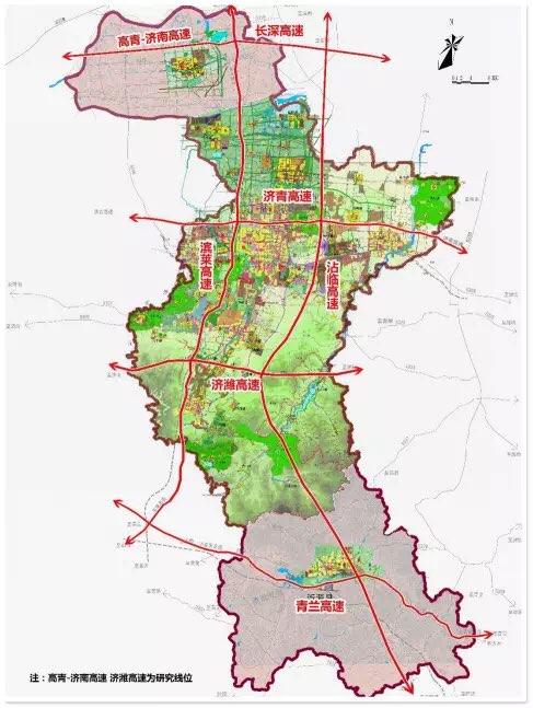 淄博境内将新添一条高速路 贯穿5区1县全长120多公里