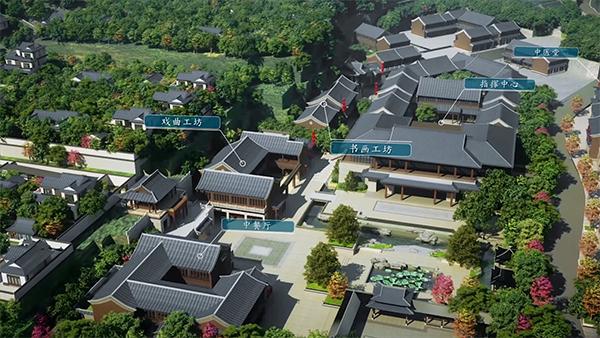 """博山探索医养结合新模式 颐养小镇有了""""国医堂"""""""