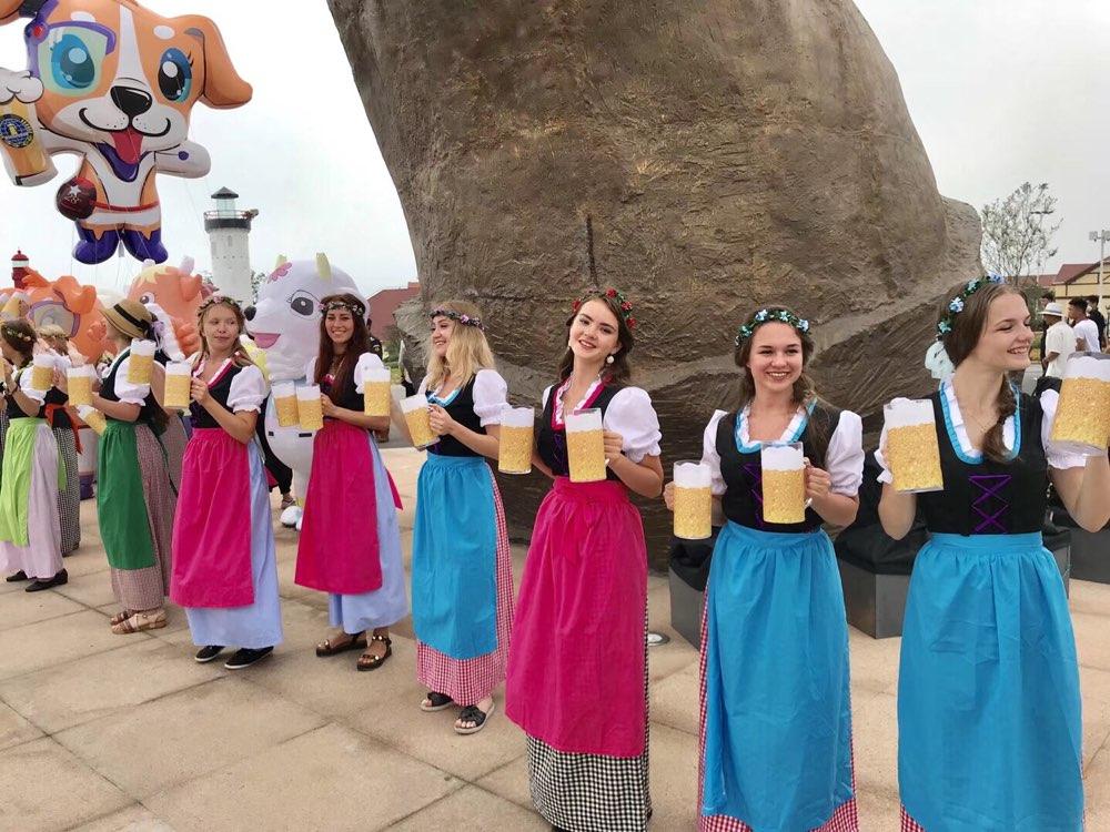 第28届青岛国际啤酒节7月20日开幕,西海岸和崂山两大啤酒城正式开门纳