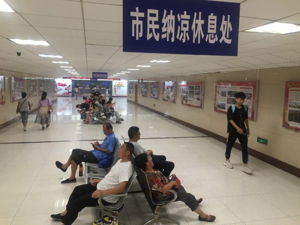 炎值≥35℃|37℃高温来袭 济南市民纳凉点消暑