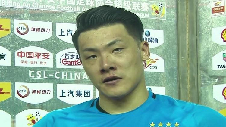 王大雷:主教练李霄鹏给予我们信心  中场休息巧妙安排战术