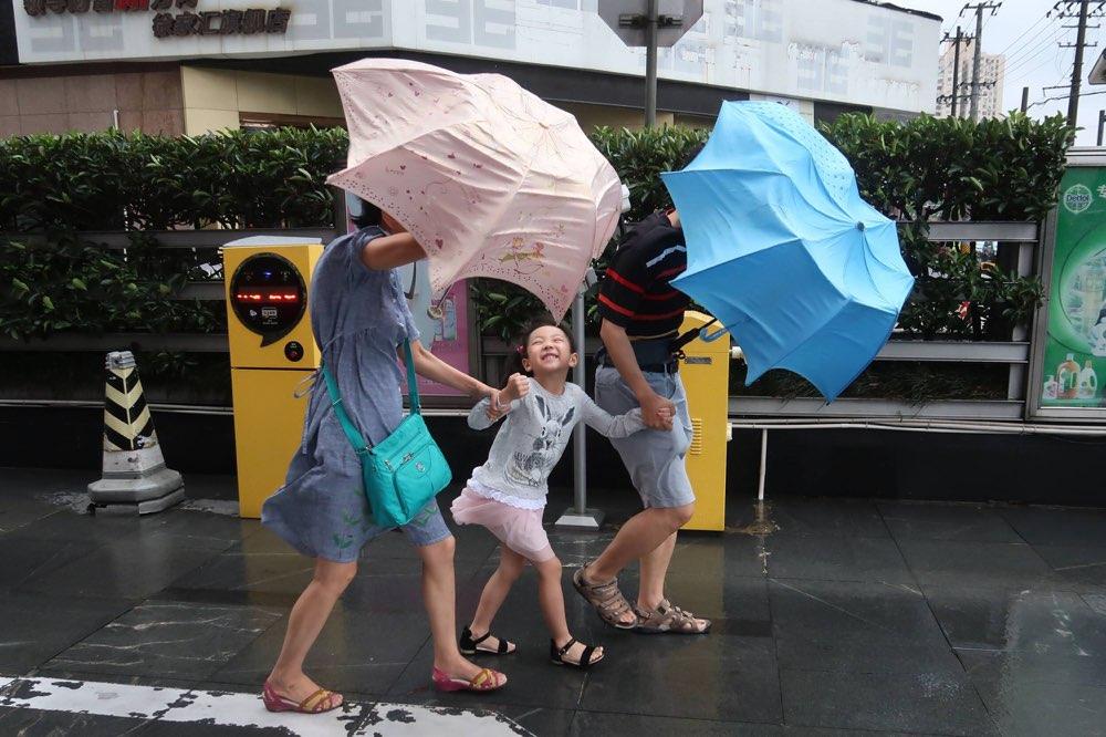 """淄博发布地质灾害气象预报黄色预警 多措应对台风""""安比"""""""