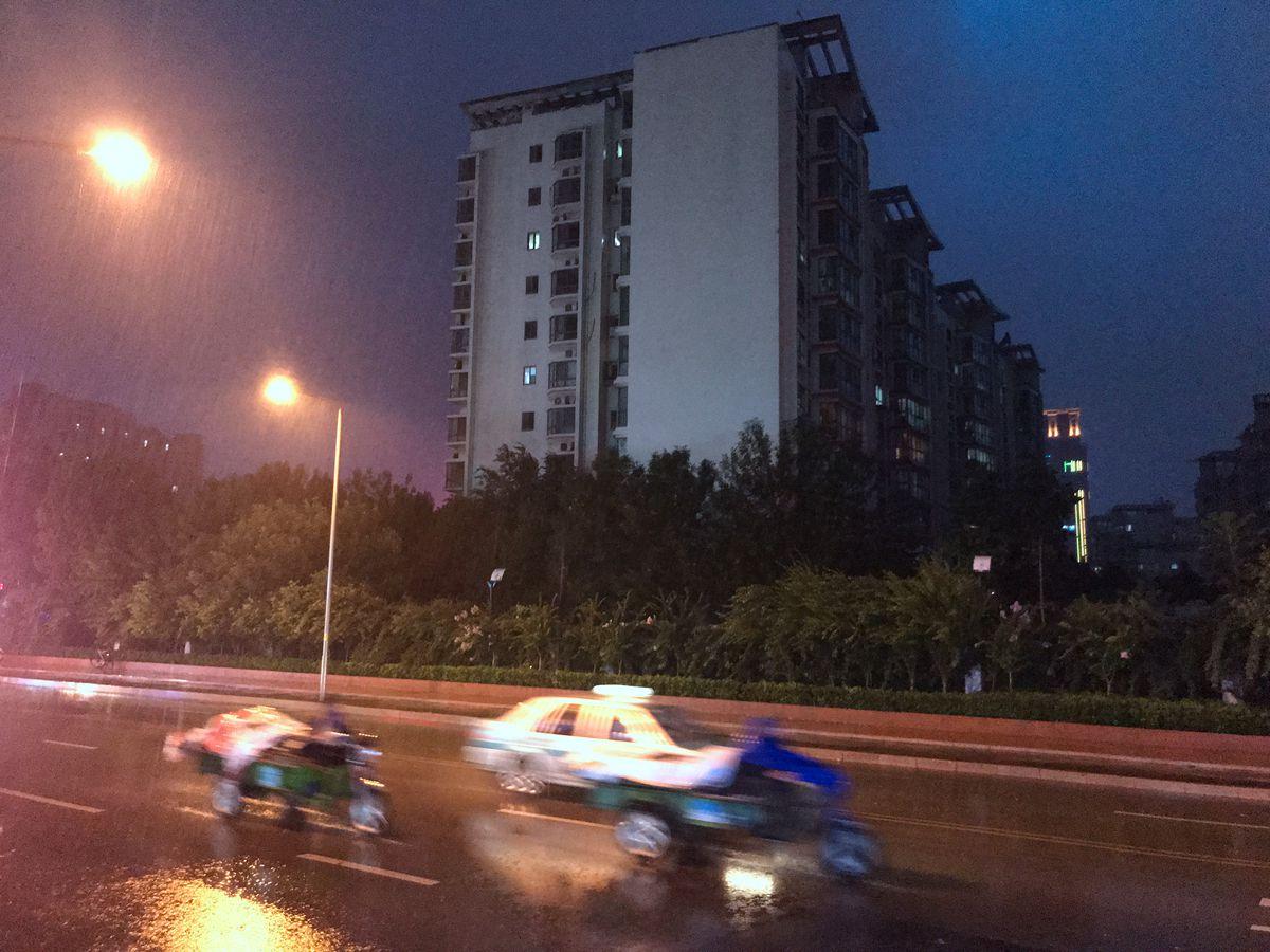 """台风""""安比""""来了!济南市区迎中到大雨局部暴雨"""