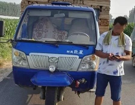 莘县:载货农用三轮车未挂号牌 驾驶人被罚款200元记12分