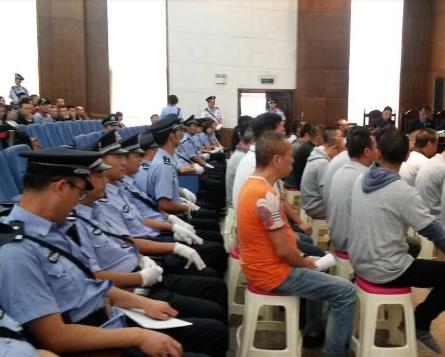枣庄峄城首例被公诉的恶势力案件曝光 20人被提起公诉