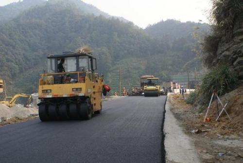 枣庄山亭区冯木公路升级改造工程即将竣工通车