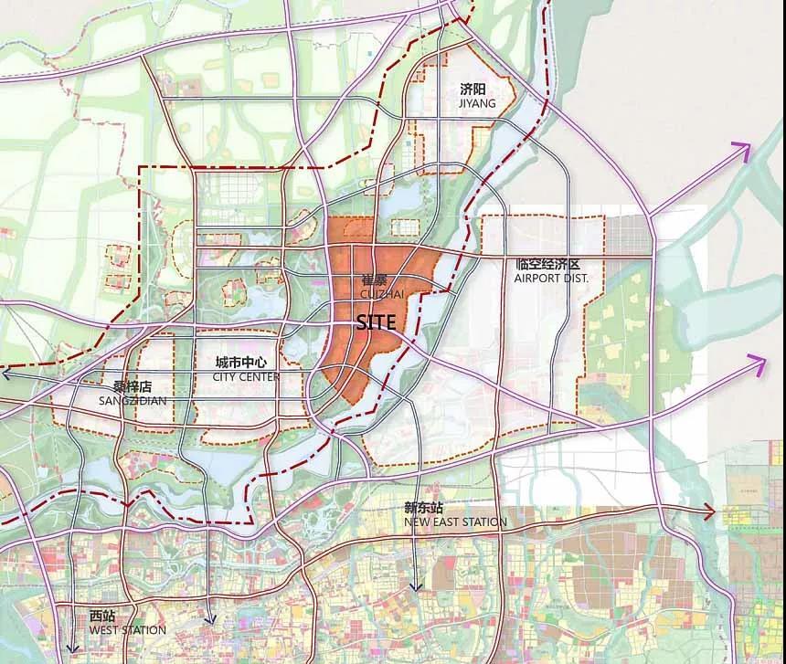 济南临空规划图