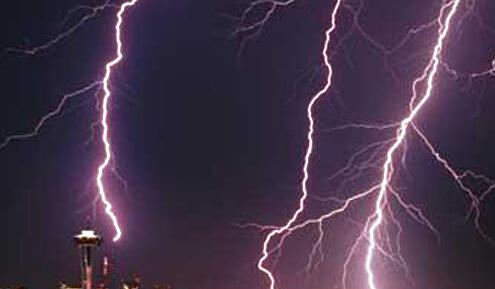 济南发布雷电黄色预警 章丘、历城已出现降雨和雷电活动