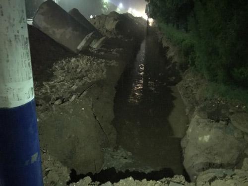 滨州高新区祖孙俩滑入排水渠管道追踪:抢救后无生命体征