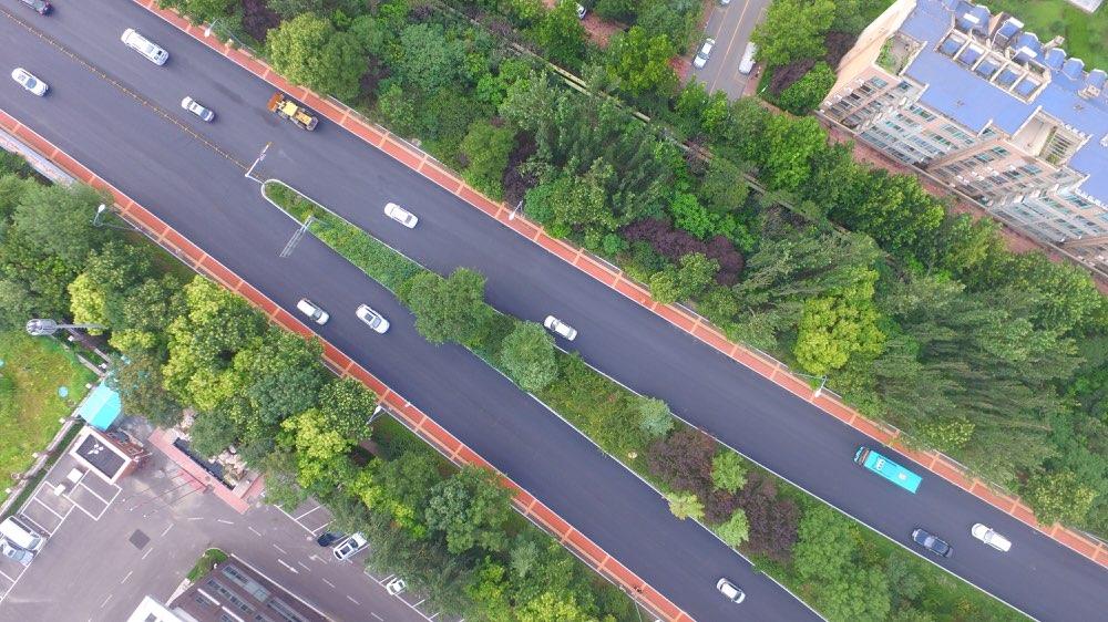 济南再添交道景观大道 旅游路整修工程29日晚完成